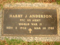 Harry J Jack Anderson
