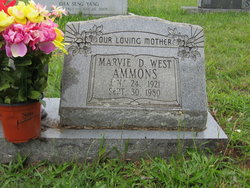 Marvie Dean <i>West</i> Ammons
