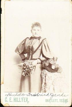 Mrs Hulda Caroline <i>Friedrich</i> Janke