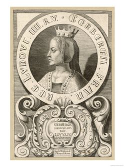 Gerberga of Saxony