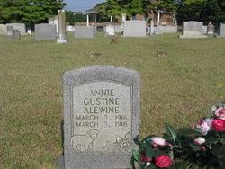 Annie Gustine Alewine