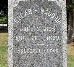 Edgar H Naudain