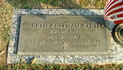 Warren Coleman Carter