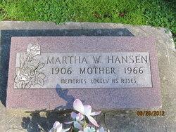 Martha Winona <i>Cassedy</i> Hansen
