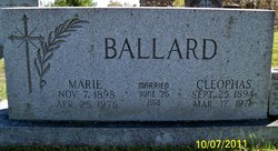 Anna Marie <i>Hagan</i> Ballard