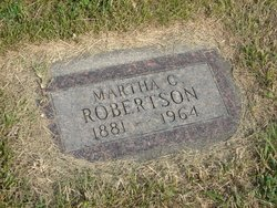 Martha Catherine Mattie Robertson