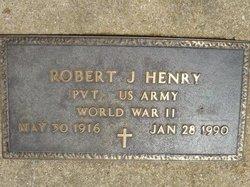 Robert J Henry