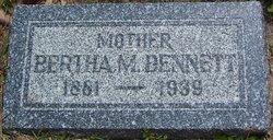 Bertha M Bennett