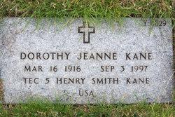 Dorothy Jeanne Kane