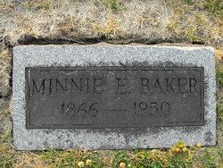 Minnie Elizabeth <i>Shumate</i> Baker