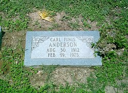 Carl Finis Anderson