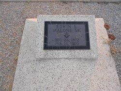 Edwin Scott Malone, Sr