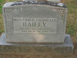 Mortimer Grimball Bailey