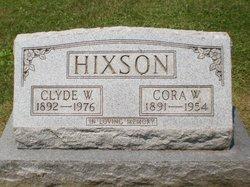 Cora W. <i>Bronner Bates</i> Hixson