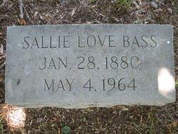 Sallie <i>Love</i> Bass