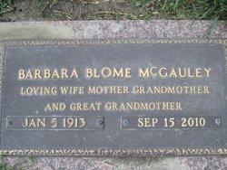 Barbara Isabelle <i>Blome</i> McGauley