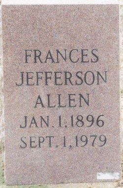 Frances <i>Belvin</i> Allen