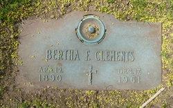 Bertha F. Clements