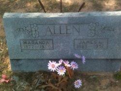 Mary Maranda <i>Beavers</i> Allen