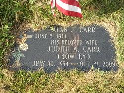 Judith A <i>Bowley</i> Carr