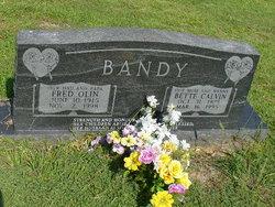 Bette <i>Calvin</i> Bandy