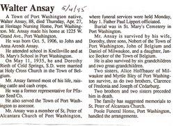Walter Ansay