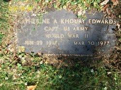 Capt Katherine A <i>Khoury</i> Edwards