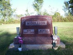 Nora Myrtle <i>Allen</i> Middleton