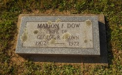 Marion F <i>Dow</i> Brown