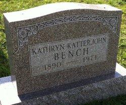Kathryn <i>Katterjohn</i> Bench