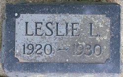 Leslie L Adams