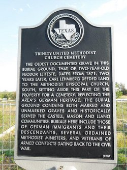 Trinity United Methodist Church Cemetery