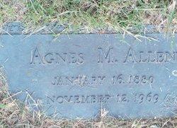 Agnes M <i>Moore</i> Allen