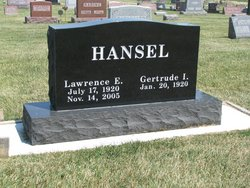 Lawrence Edward Larry Hansel