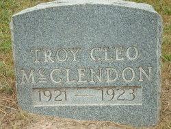 Troy Cleo McClendon