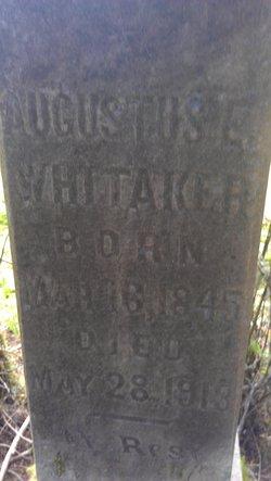 Augustus E Whitaker