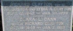 Clara L <i>Cann</i> Clayton
