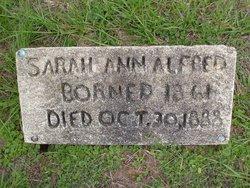 Sarah Ann <i>Johnson</i> Alfred