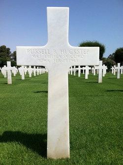 Maj Russell Benjamin Huck Huckstep