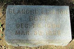 Blanche <i>Eliason</i> Boyt