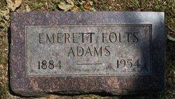 Emerett Folts Adams
