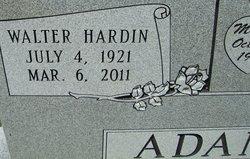Walter Hardin Adams