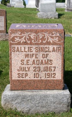 Sallie <i>Sinclair</i> Adams