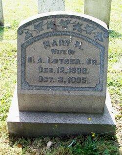 Mary Margretha <i>Benden</i> Luther