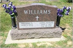 Anna Maxine <i>Burklow</i> Williams