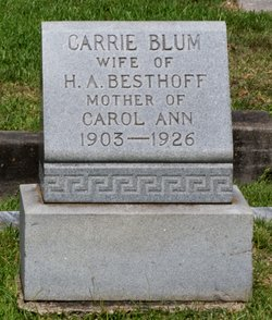 Carrie <i>Blum</i> Besthoff