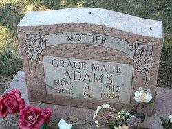 Grace Lucille <i>Mayo</i> Adams
