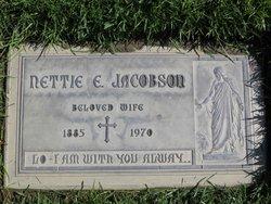 Nettie E <i>Larsen</i> Jacobson