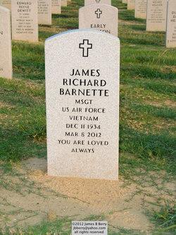 Sgt James Richard Barnette