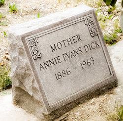 Annie <i>Evans</i> Dick